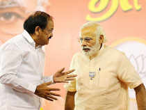 PM Modi said he has always admired the hardwork and tenacity of Naidu, currently a minister in his Cabinet holding the portfolios of Information and Broadcasting and Urban Development.