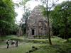 Temple in the richness of the forest