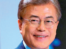 The two sides technically remain at war but Moon, who came to power in May, has pledged to engage the North in dialogue.