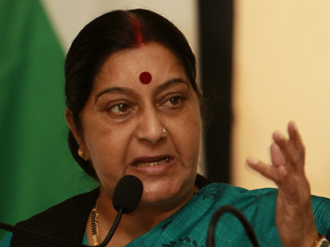 Ailing PoK resident to get visa, no letter from Aziz needed: Sushma Swaraj