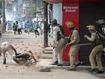 Home ministry data shows a sharp decline in cases of peace disruption at 583, against 2,897 cases in 2016. However, there appears to be no letup in fatalities in terrorist incidents.