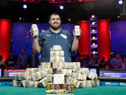 25-year-old from New Jersey is this year's World Series of Poker champion, winning more than $8.1 million