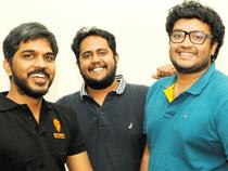In pic:  Founders (from left) Rahul Jaimini, Nandan Reddy & Sriharsha Majety