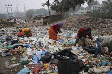 79% of plastic in landfills, water bodies