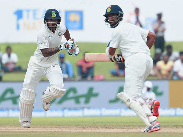 India thrash S Lanka in first Test