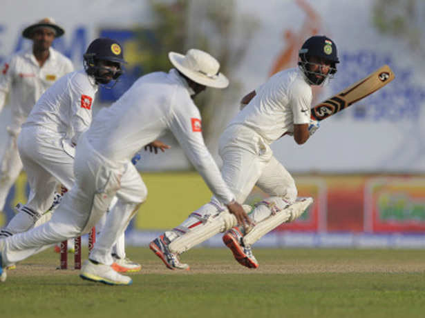27 Jul 2017 | 02:04 PM Live cricket score India vs Sri Lanka first Test match Day 2
