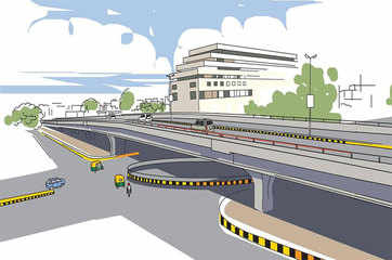 15 underpasses on 20km stretch of NH-24