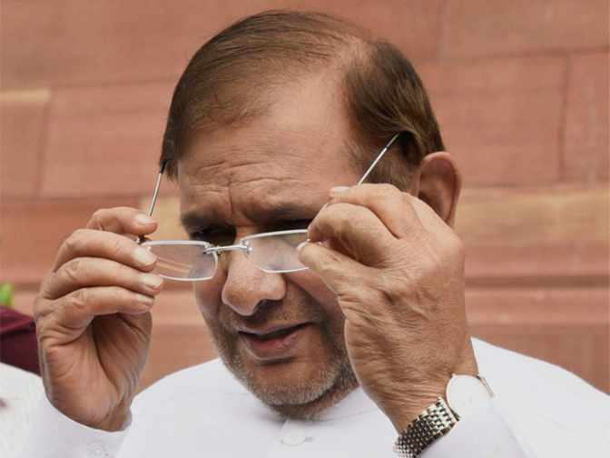 Image result for Sharad Yadav to decide future strategy after August 17 meeting