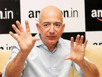 Bezos, 53, is now worth $82.2 billion, about $600 million behind Spanish retail magnate Amancio Ortega, founder of the Zara clothing chain.