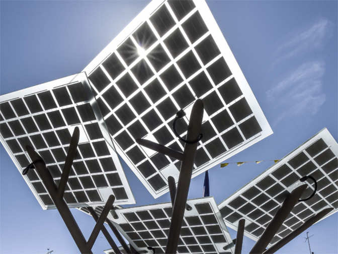 Solar power will exceed thermal output by 2027: Economic Survey