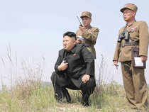 Tensions have risen since North Korea tested two intercontinental ballistic missiles in July.