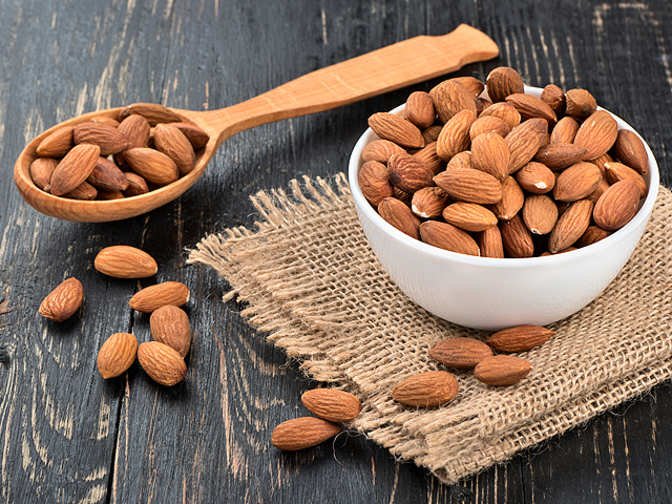 Munching almonds daily will increase your cholesterol - and that's good news