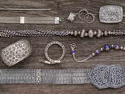 Humidity can be terrible for your silver jewellery: Store it in cotton bags, avoid paper and tissue