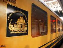Super luxury train 'Royal Rajasthan on Wheels' flagged off from New Delhi