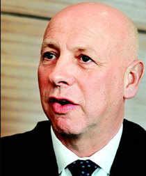 Nigel Vooght, PricewaterhouseCoopers' global financial services leader
