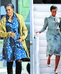 Michelle Obama plays her designer diplomacy