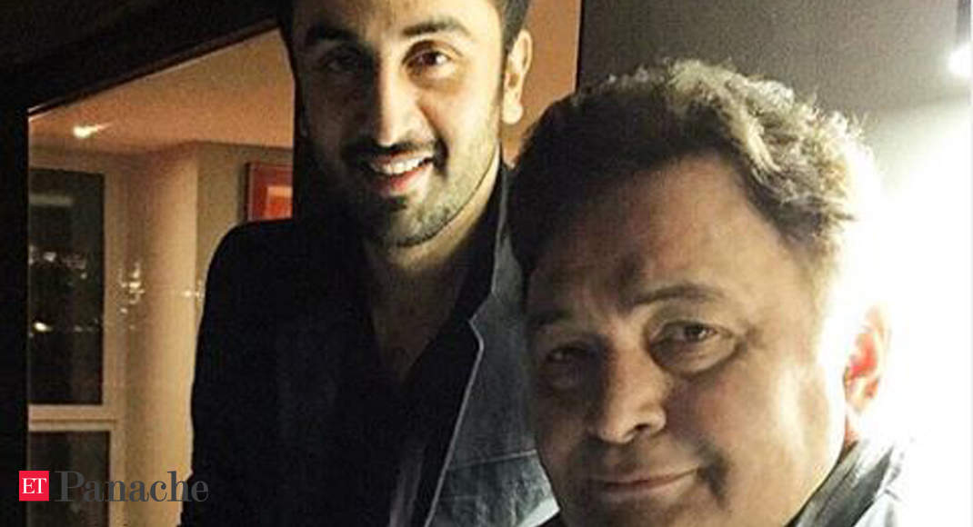 Rishi Kapoor reveals how son Ranbir took him to NY for treatment  says might return home next month - Economic Times