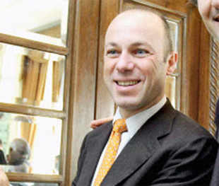 Lavazza's Vice-President and Strategic Marketing Director Giuseppe Lavazza during the launch of a manufacturing facility in Hyderabad. (PTI Photo)