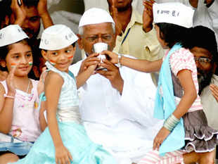 Has Anna Hazare really come out a winner?