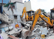 Demolition of illegal constructions in Hyderabad begins