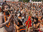 Huge crowds at Haridwar as India's case count rises