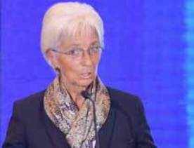 'Lagarde is only candidate to head IMF'