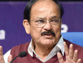 Naidu hopeful of passing of realty, GST bill