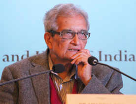 Frustrated with governance, not India: Amartya Sen