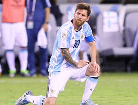 Messi won't be playing for Argentina anymore