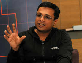 Binny & I discussed getting an outside CEO: Sachin Bansal