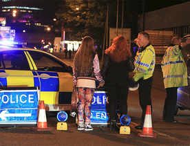 At least 19 dead in blast at Ariana Grande concert in UK