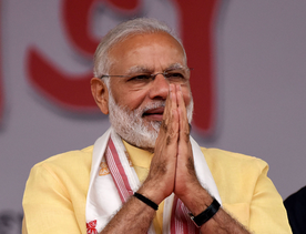 How Modi has turned the world into his office