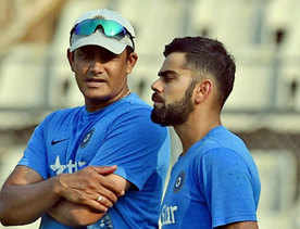 Kohli deletes tweet welcoming Kumble as coach