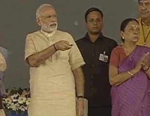 Modi launches Rs 12,000-cr irrigation project in Jamnagar