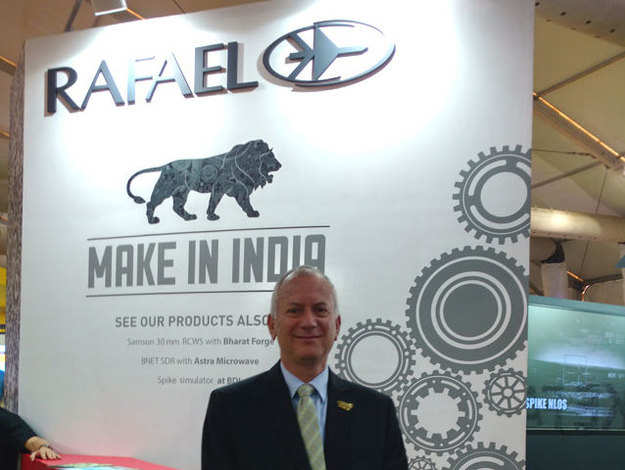 'Make in India' a win-win situation for us: Rafael Advanced Defense Systems