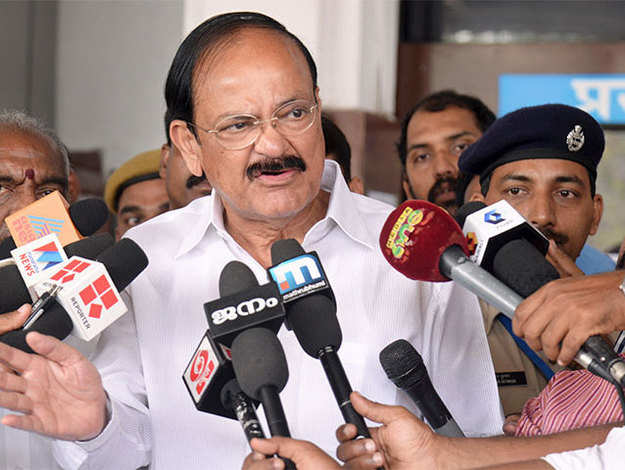 Smart city project to show results soon, UP lagging: Venkaiah Naidu