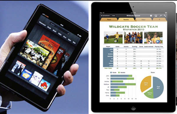 Amazon Kindle Fire vs Apple iPad 2: How do the two compare - The