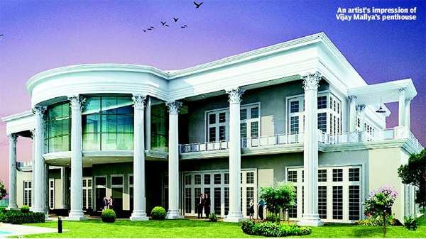Vijay Mallya\'s White House in the sky: First-ever visuals & details ...