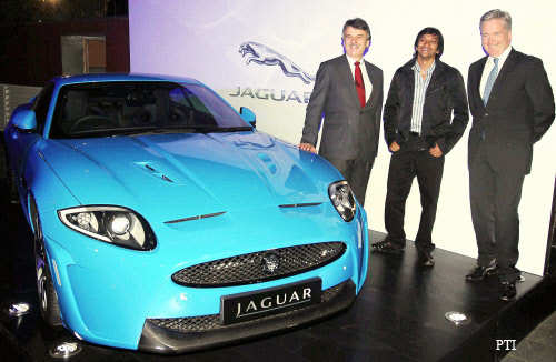 Auto Expo 2012: Four new Jaguar Land Rover models on displayAuto Expo 2012: Four new Jaguar Land Rover models on display