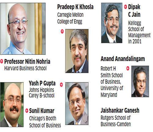 US colleges learn business mantra from Indian gurus like Soumitra Dutta, Pradeep K Khosla and Dipak C Jain