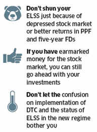 Don't ignore tax-saving mutual funds in a beaten-down equity marketDon't ignore tax-saving mutual funds in a beaten-down equity market