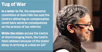 Centre, states again spar over compensation for central sales tax lossesCentre, states again spar over compensation for central sales tax losses