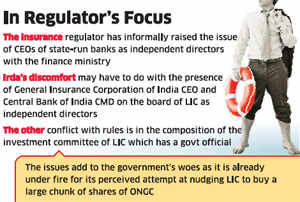 IRDA raises concerns over corporate governance in LIC