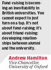 We are seeking for more scholarly collaborations in India: Andrew Hamilton, University of Oxford