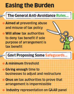 Small firms, individuals may be exempted from GAAR