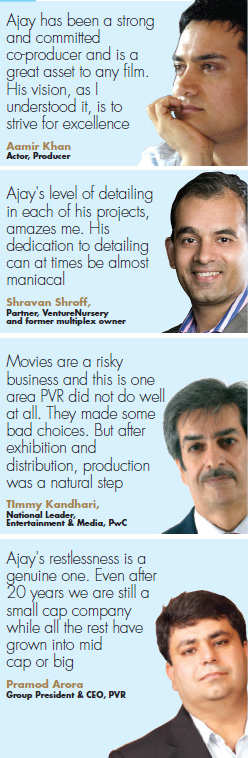 In next three years another 250 movie theaters will bear PVR name, says Ajay Bijli