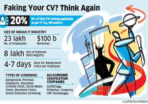 resume fraud weighs on it industry one in five cvs contain fake