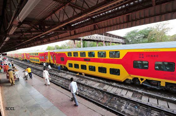Delhi-Jaipur double-decker train ready to roll