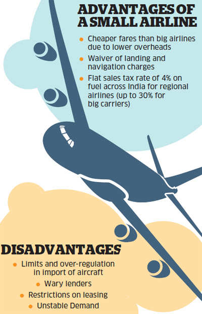 Advantages of a small airline