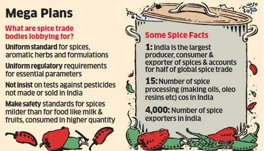 Spices Board is looking to remove unwanted specks in the production and supply chain